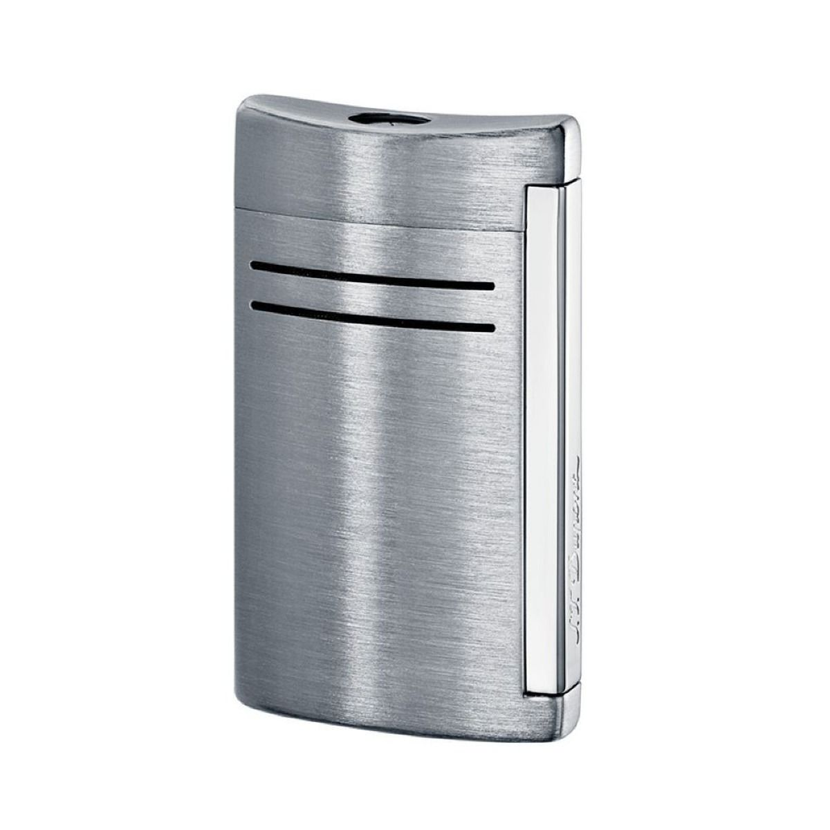Mechero de diseño en plata brillante