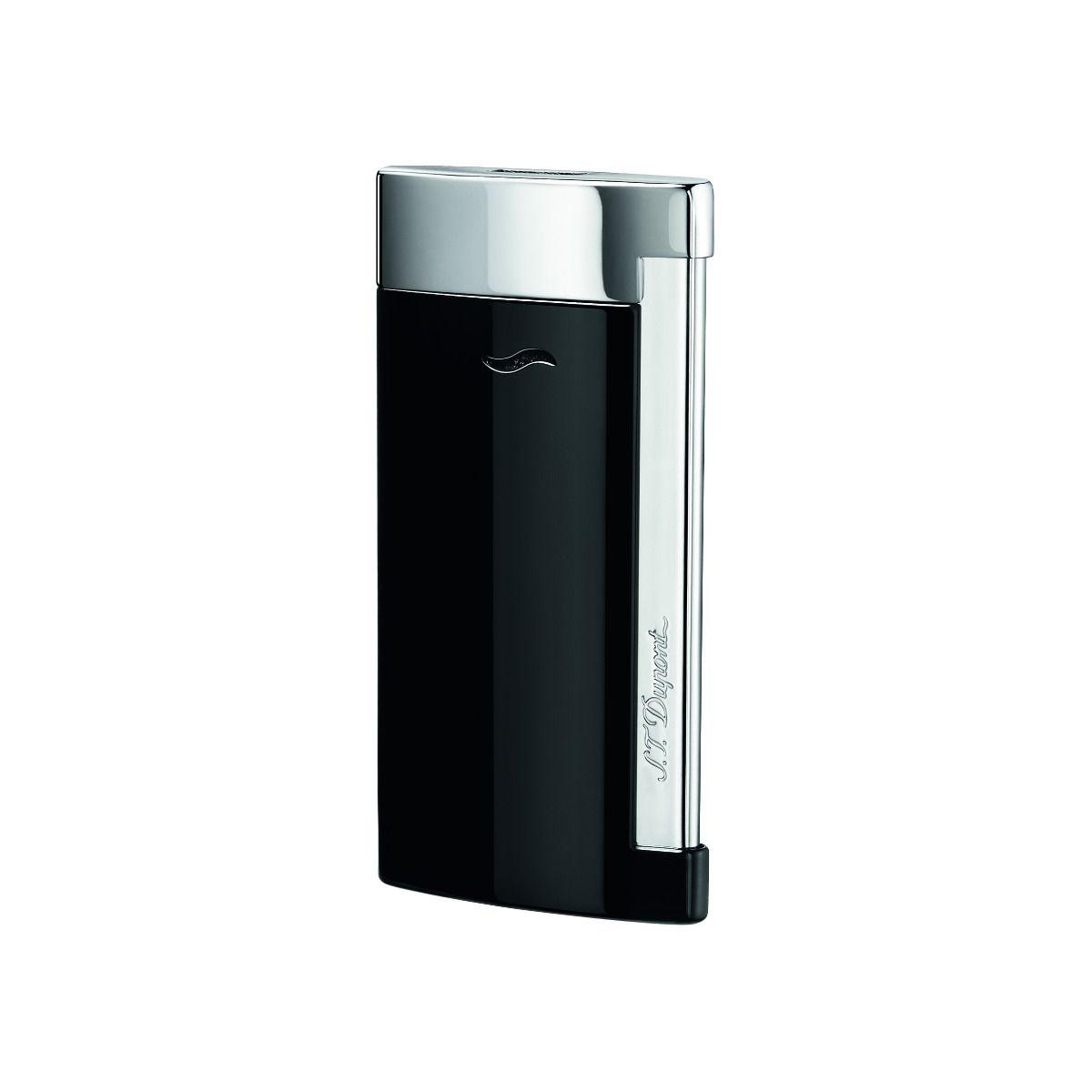 Design mais leve em prata e preto brilhante