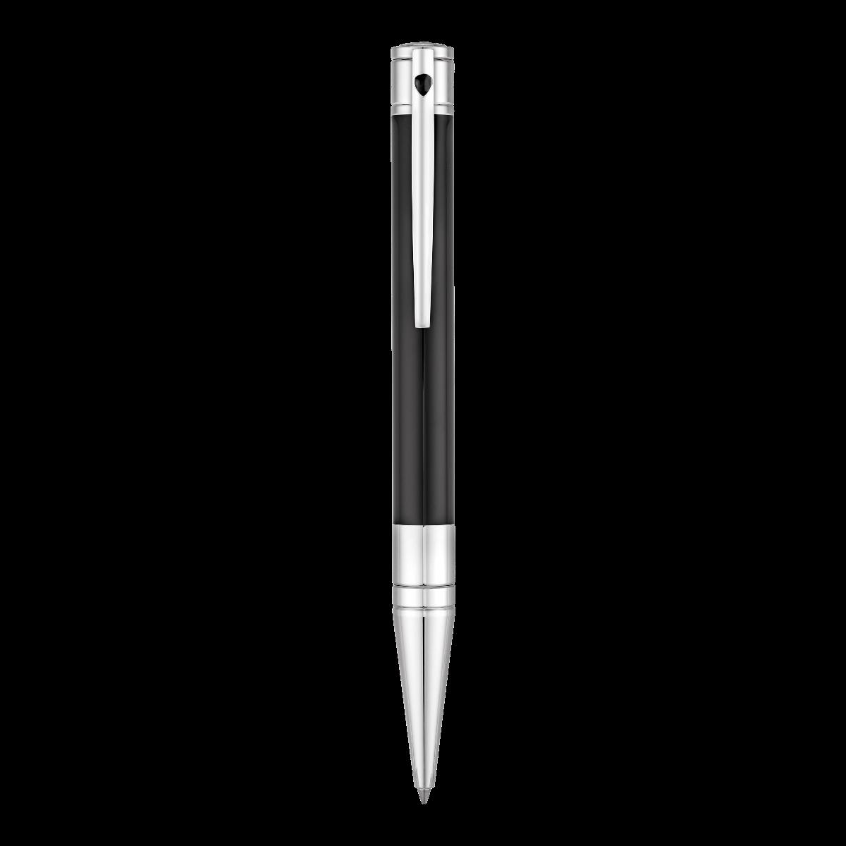 Bolígrafo en negro y plata