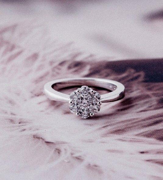 Anillo de diamantes SEATTLE