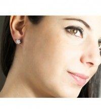 Brincos de diamantes ANNA
