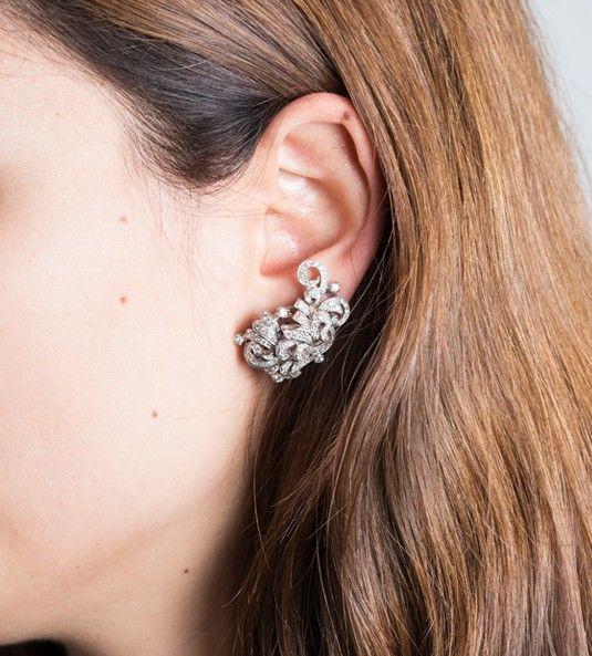 Pendientes de diamantes BORDEAUX