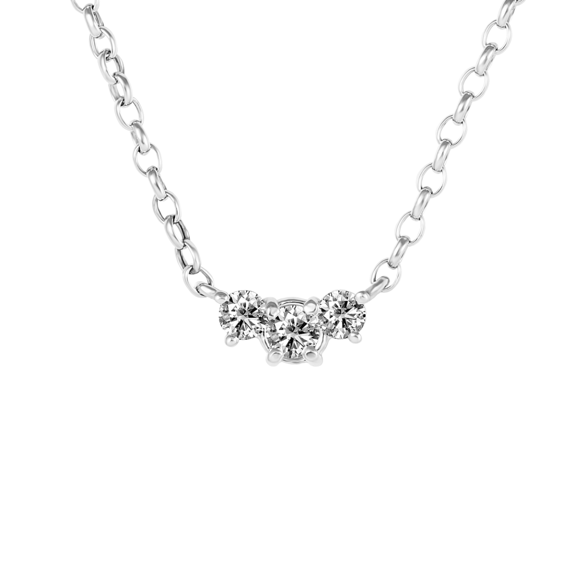 Colgante de diamantes TRILOGY