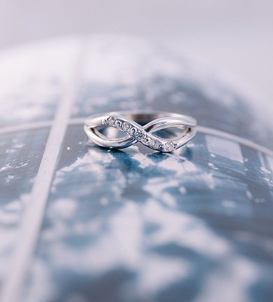 Anel de diamantes DIANA