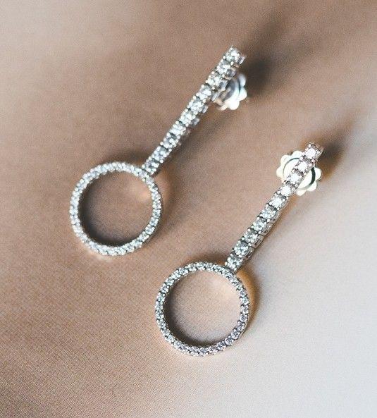 Pendientes de diamantes DELICIA