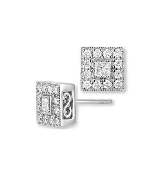 Pendientes de diamantes PRISCILA
