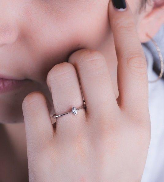 Anillo de diamantes DUBAI